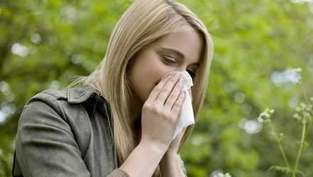 Ризик виникнення алергії: науковці дали прогноз на тиждень