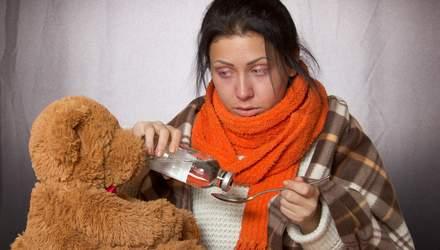 Як правильно лікувати грип та застуду