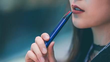 Рада заборонила продаж електронних сигарет дітям