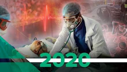Какие болезни забрали больше всего жизней украинцев в 2020 году