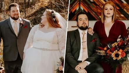 Удивительное похудение: пара вместе сбросила 90 килограммов без изнурительных диет и спортзала