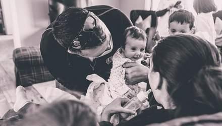 Родила дочь в коме и с COVID-19: первая встреча матери и ребенка – фото