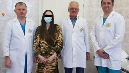 Гігантська пухлина не давала дихати: у Львові онкологи видалили жінці 30-кілограмову ліпосаркому