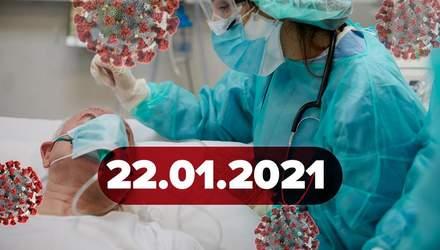 Новини про коронавірус 22 лютого: скільки вакцин Україна отримає завтра, постковідні симптоми