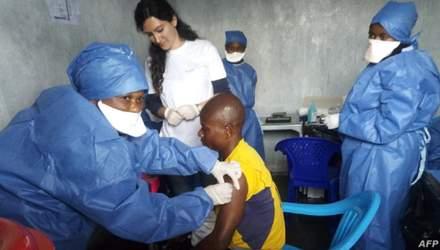 У Гвінеї розпочалась вакцинація проти Еболи