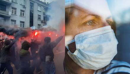Главные новости 27 февраля: последний мирный протест за Стерненко, Буковина в красной зоне