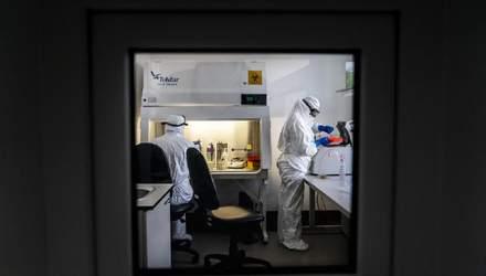 За сутки в Украине 5 572 новых случая коронавируса