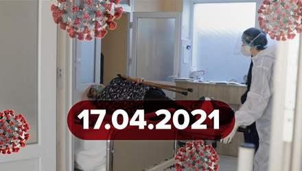 Новости о коронавирусе 17 апреля: старт вакцинации в МВД, причина смерти львовянина