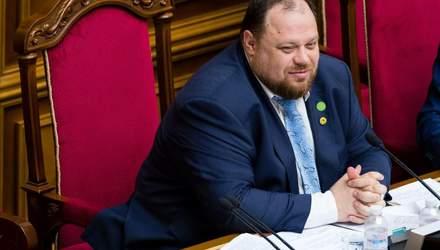 Стефанчук закликав МВС штрафувати нардепів, які не носять масок у Раді