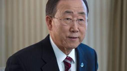 Пан Гі Мун закликає зупинити поширення СНІДу