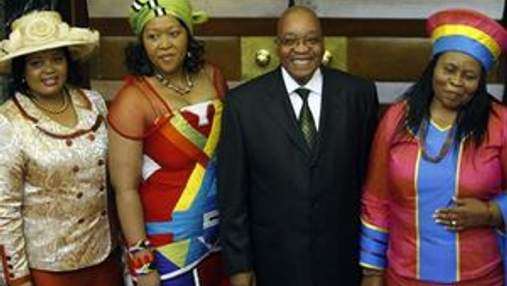 Президент ПАР поповнить свій гарем шостою дружиною