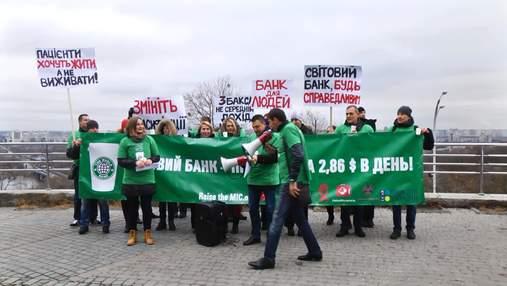 Світових фінансистів просять переглянути ставлення до України для боротьби із СНІДом