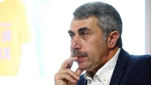 Доктор Комаровский пожаловался на подделки от его имени