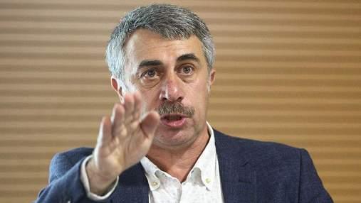 Доктор Комаровский советует не использовать физраствор и минералку в небулайзерах