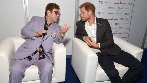 Елтон Джон і принц Гаррі запускають спільну кампанію для боротьби зі СНІДом