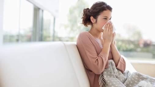Алергія на пил: основні симптоми та лікування