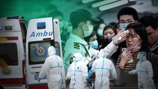 Коронавірус COVID-2019 в Китаї: виявили понад 20  нових випадків хвороби