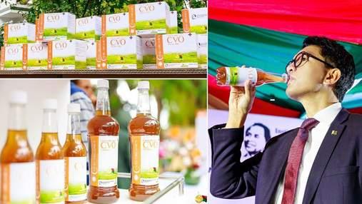 На Мадагаскарі жителям роздають трав'яний чай, розроблений нібито для лікування COVID-19