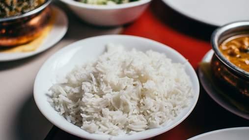 Чому потрібно відмовитися від білого рису
