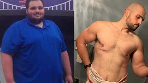Цей хлопець схуднув на 120 кілограмів: тепер його просто не впізнати