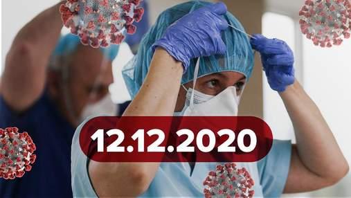 Новини про коронавірус 12 грудня: гарантована вакцина для України, покарання за фіктивний тест