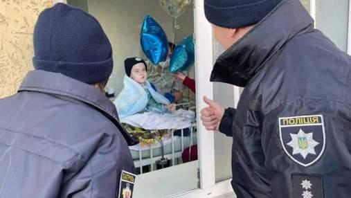 Щемящая история из Черновцов: онкобольному Саше, которого брали на патрулирование, уже лучше
