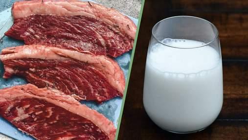 Мясо и молоко крупного рогатого скота вызывает рак