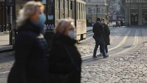 Коронавирус во Львове и области: актуальная статистика заболеваемости