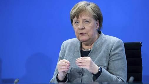 Меркель выступила против отмены патентов на COVID-вакцины