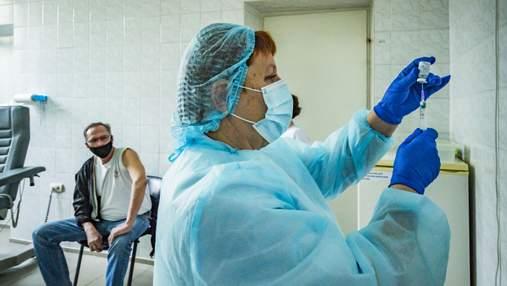 Вакцинація проти коронавірусу: у Києві й 11 областях за добу не зробили жодного щеплення