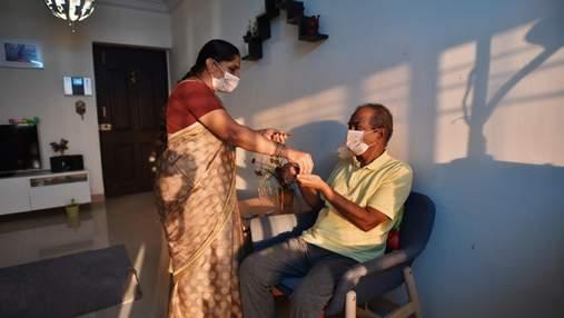 В Індії смертність від коронавірусу сягнула максимальних показників
