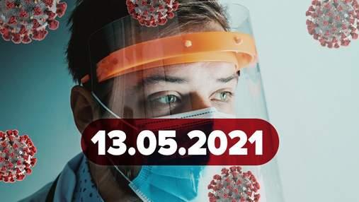 Новини про коронавірус 13 травня: в Україні закінчується AstraZeneca, чи можна змішувати вакцини