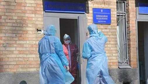 Ситуация улучшается: за сутки в Киеве выявили почти 700 новых больных COVID-19