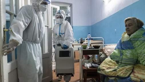 Коронавирус в Украине: суточное количество умерших снова возросло