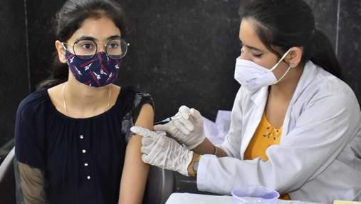 Вакцинація проти COVID-19 зменшує ризик госпіталізації через індійський штам на 93%