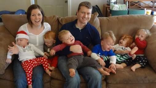 Жінка народила одразу 6 малюків: які правила та методи допомагають їй виховувати дітей