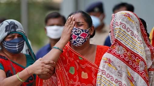 """""""Дельта плюс"""": в Індії циркулює новий вид штаму коронавірусу"""