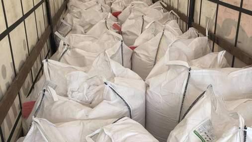 На Львовщину из Нидерландов пытались ввезти более 20 тонн муки с ГМО: фото
