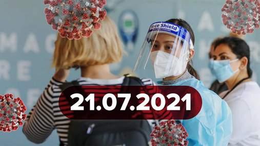 Новини про коронавірус 21 липня: Сорос і Гейтс купили виробника ковід-тестів, Moderna у Києві
