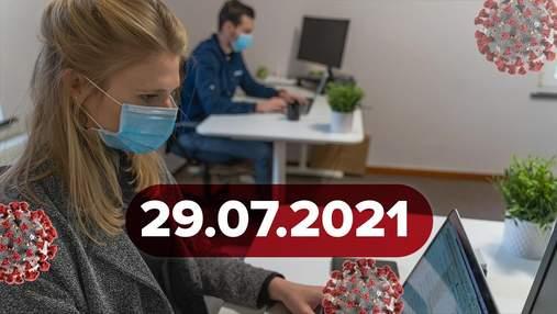 Новости о коронавирусе29 июля: рекордная смертность в РФ, уникальные симптомы у вакцинированных