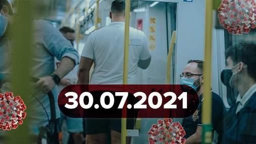 Новости о коронавирусе 30 июля: скандал из-за маски, антитела у украинцев