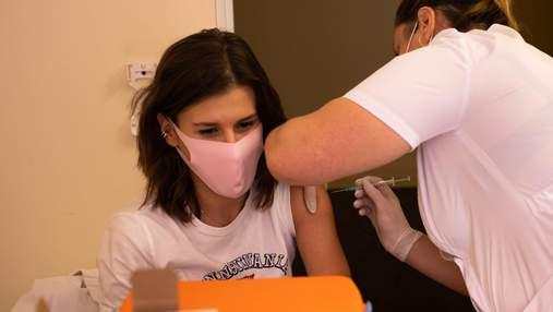 Від учора проти COVID-19 вакцинували понад 140 тисяч українців