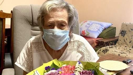 Во Львове еще одна долгожительница отметила 101 день рождения
