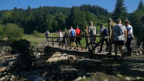 Підкорити гори попри проблеми зі здоров'ям: ветерани АТО об'єдналися для благодійної мети
