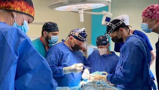 Львовские медики провели первую в Украине реконструкцию лица: фото до и после