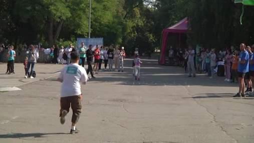 На підтримку онкохворих дітей: у Херсоні відбувся благодійний пробіг