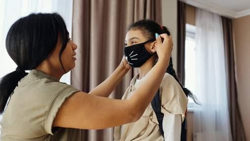 Чи можна дітям носити захисні маски