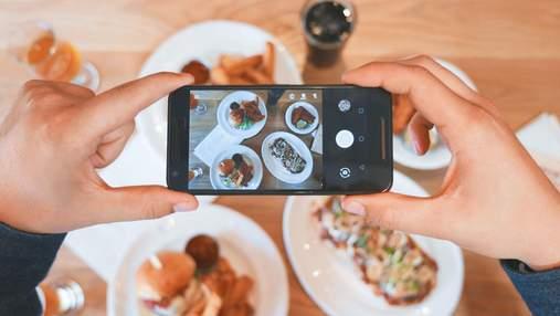Привычка фотографировать еду может иметь негативные последствия для здоровья