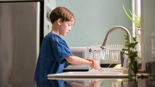 Як привчити дитину мити руки