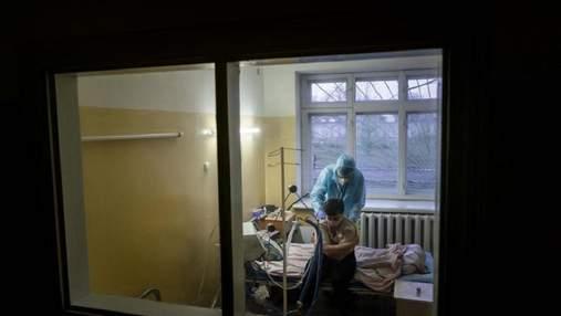 Коронавирус в Украине: за сутки в больницы госпитализировали более 4 тысяч человек